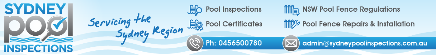 Sydney Pool Inspections Sticky Logo